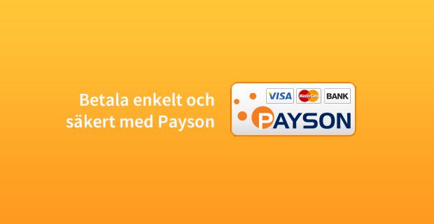 Betala enkelt och säkert med Payson